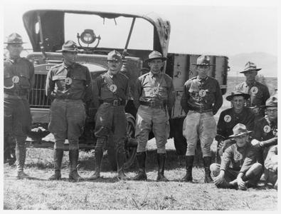 Tank Company members in the 1930s