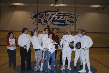 Fencing Team, Janesville, 2008