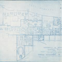 Plan, UW-Madison, 1927