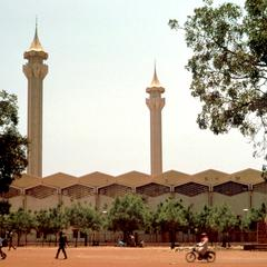 The New Grand Mosque of Bamako