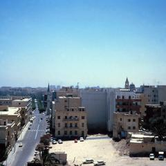 Center of Tripoli Looking from East to West