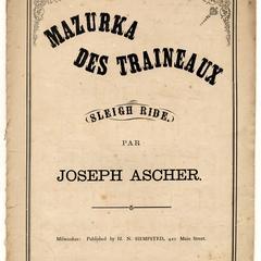 Mazurka des traineaux