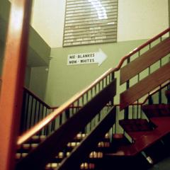 Stairwell for Blacks in Post Office, Johannesburg