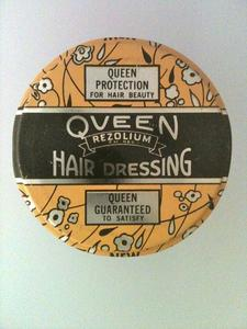 Queen Rezolium hair dressing