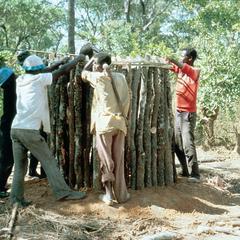 Binding Wooden Frame for Toilet