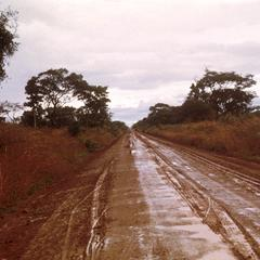 Unpaved Road after Heavy Rain