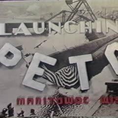 Launching Peto [and] Launching P.C. 1424 submarine chaser