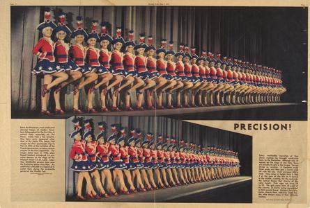 Precision! Rockettes feature