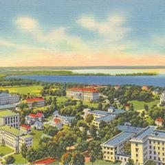 Aerial UW Madison, ca. 1930-40s