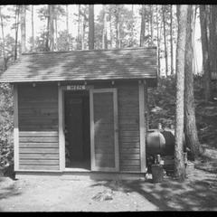 Trout Lake mens bathouse