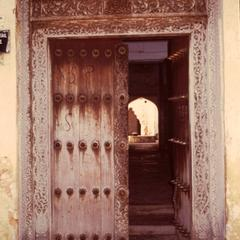Carved Swahili Door