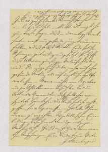 [Letter from Jakob Sternberger to Emil, January 1886]