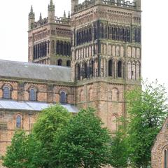 Durham Cathedral west towers