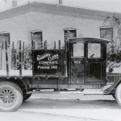 Kimberly Clark truck