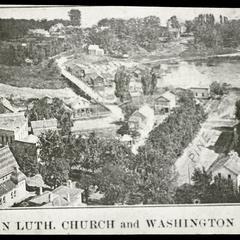 German Lutheran Church and Washington Island