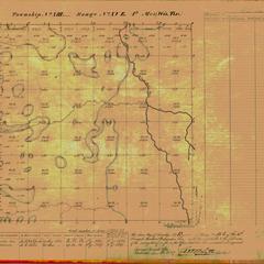 [Public Land Survey System map: Wisconsin Township 13 North, Range 15 East]