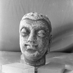 NG349, Stucco Head of the Buddha