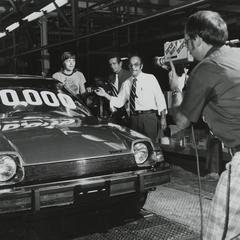 The 100,000th American Motors Corporation Pacer