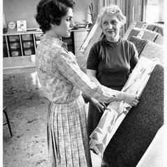 Jane Graff and Gertrude Hoffman