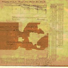 [Public Land Survey System map: Wisconsin Township 08 North, Range 01 West]