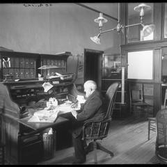D. B. Benedict - office