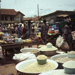 Food at Ilesa market