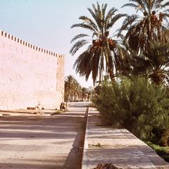 Outskirts of Gafsa towards the Oasis