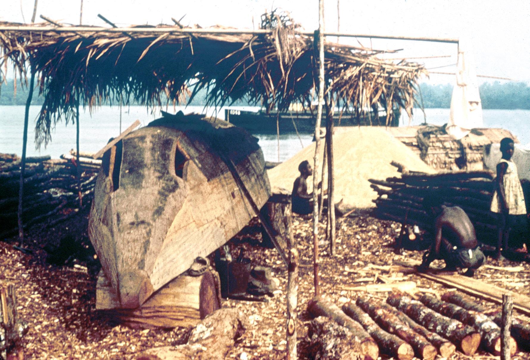 Ship-Building Yard in Calabar