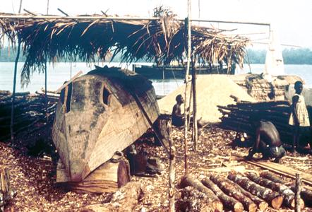 Ship-Building Yard in Calabar