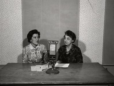 Aline Hazard and Kathryn Clarenbach