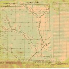 [Public Land Survey System map: Wisconsin Township 22 North, Range 09 West]