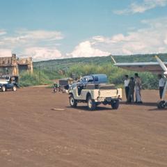 Air America Helio on a dirt ramp