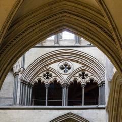 Salisbury Cathedral nave tribune gallery