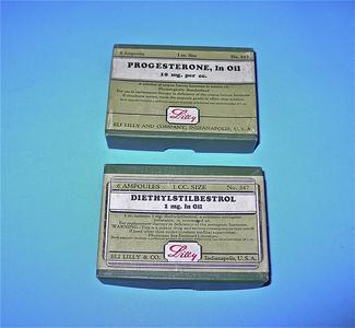 Hormone replacement oils