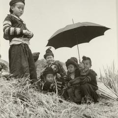 Striped Hmong women