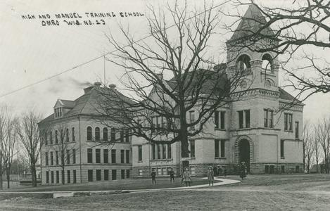Old High School and manual training school