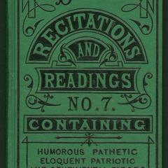 Dick's recitations and readings : no. 7