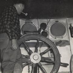 "Warden boat ""Barney Devine"""