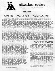 Milwaukee Update : Feb. 1981