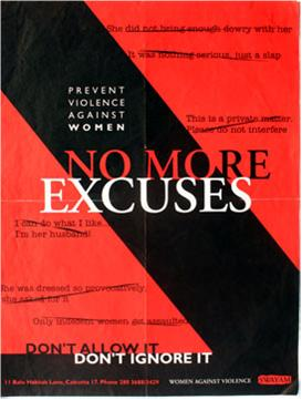No more excuses--don't allow it, don't ignore it