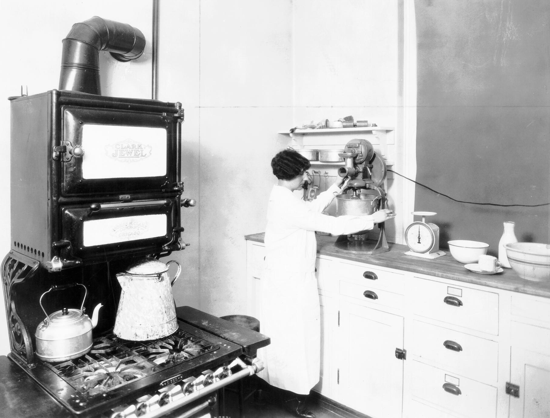 Diet kitchen in the practice cottage