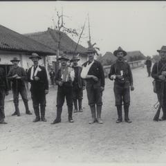 Wounded U.S. soldiers at Santa Mesa, Manila, 1899