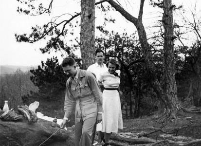 C.F.P., Sherman Morris, and Nina Leopold