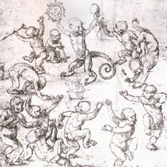 The Monkey Dance (detail)