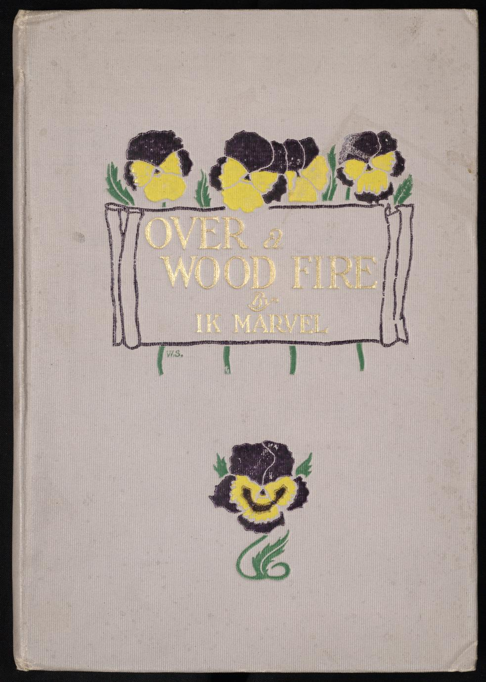 Over a wood fire : from Reveries of a bachelor
