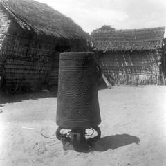 Kuba-Shoowa Middle Drum