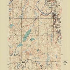 Iron River quadrangle