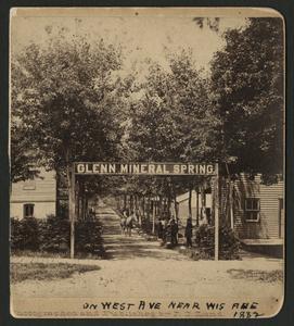Glenn Mineral Spring, Waukesha
