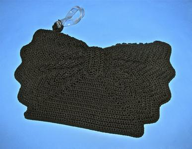 Soft corde' zipper bag