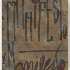 Manifesto putanheirista : y otro escritos de gosto duvidoso